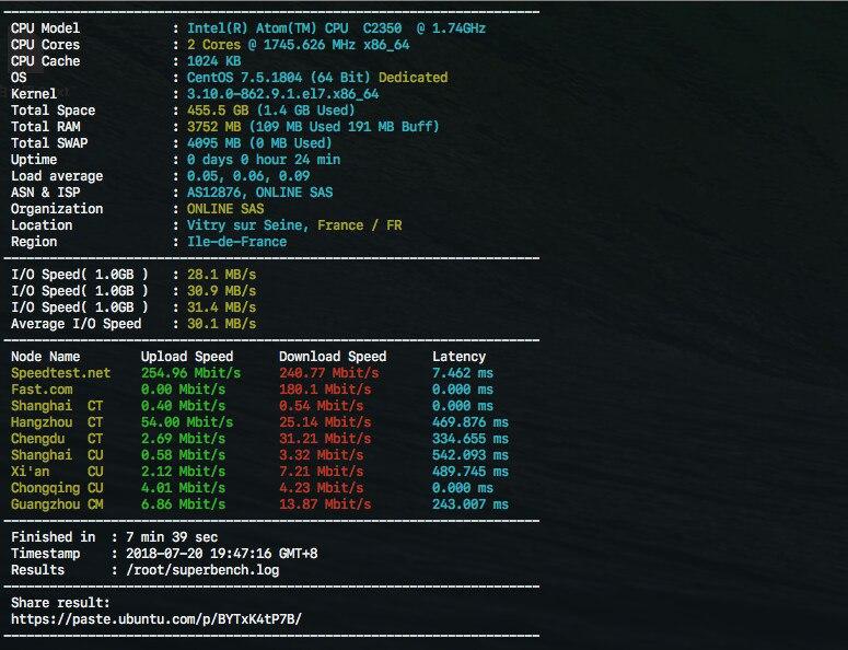 OLVPS:27元/月/512MB内存/5GB空间/512GB流量/KVM/伯力 国内直连